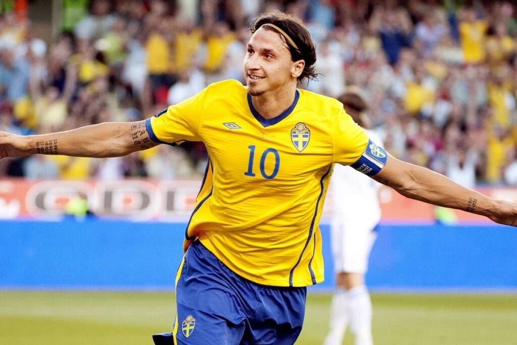 Zlatan Ibrahimovic Svezia Galliani Milan