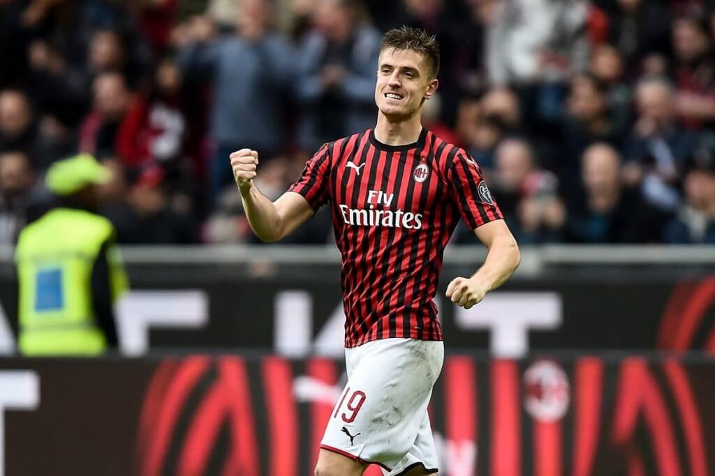 Krzysztof Piatek Milan-Sampdoria Milan-Sassuolo Milan-Spal
