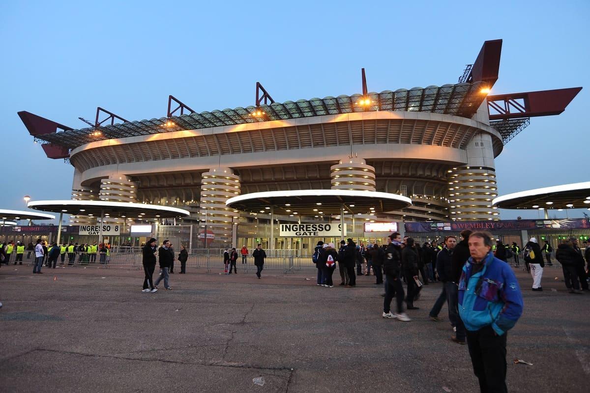 Theo Hernandez rivera ricardo rodriguez San Siro Milan Milan-Sassuolo Paquetà