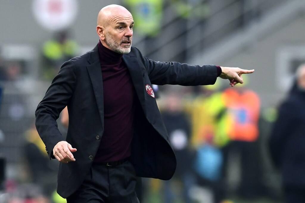 Milan-Juventus Stefano Pioli Milan derby