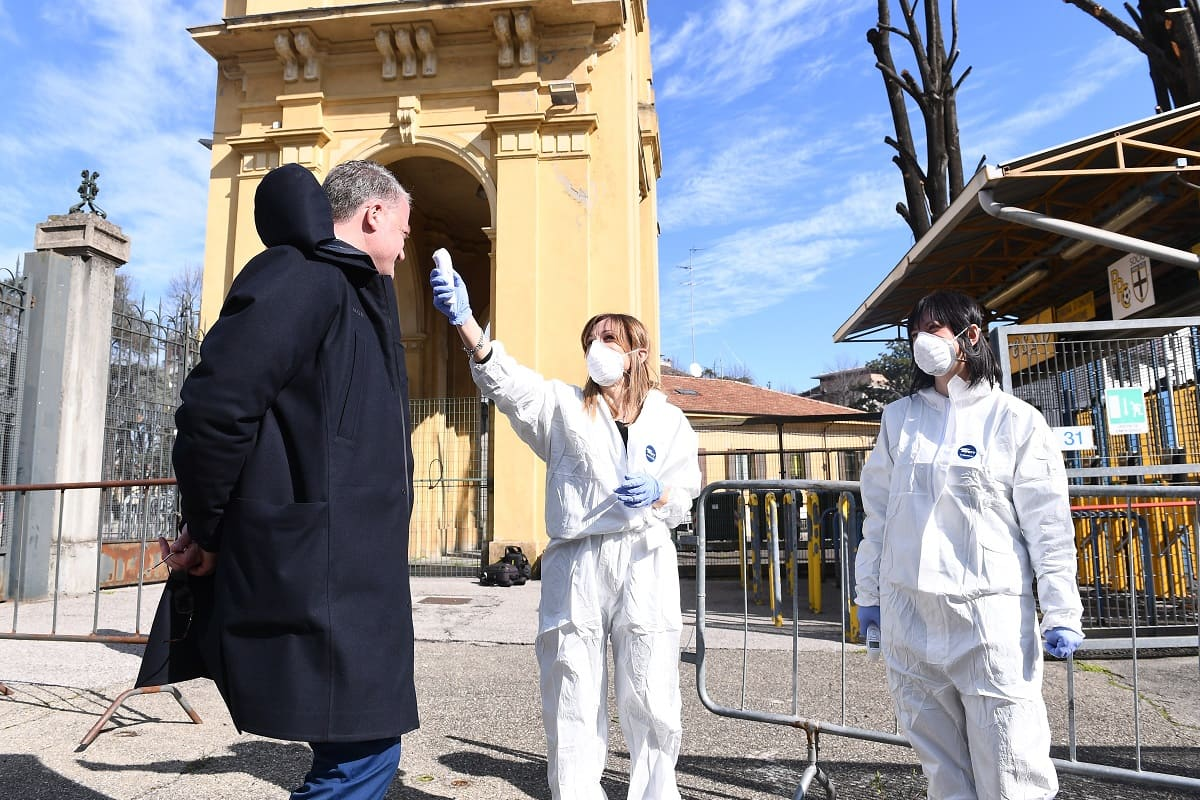Borrelli Cellino controlli sanitari coronavirus