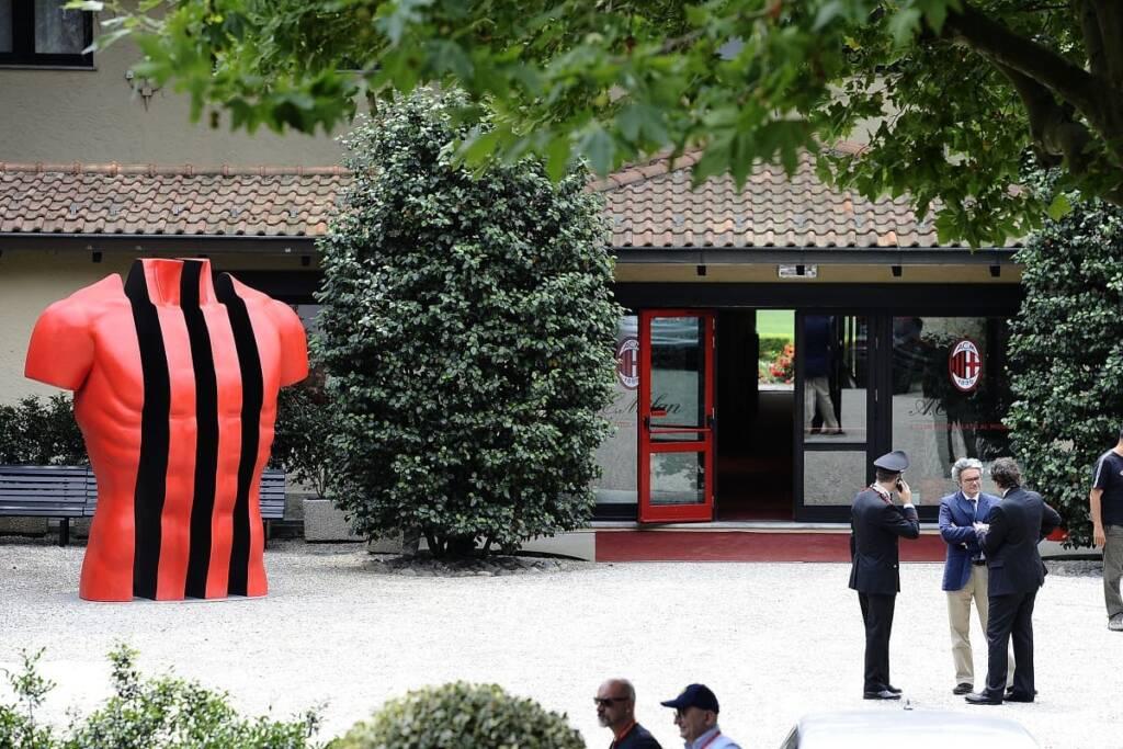 Tonali Centro sportivo Milanello