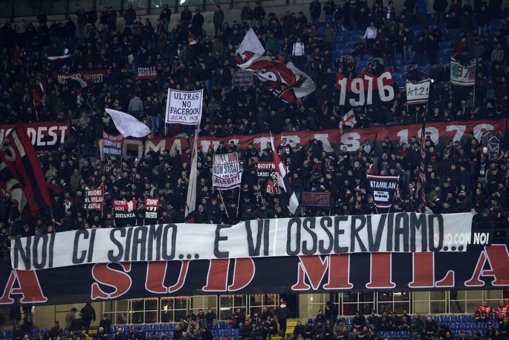 Milan tifosi